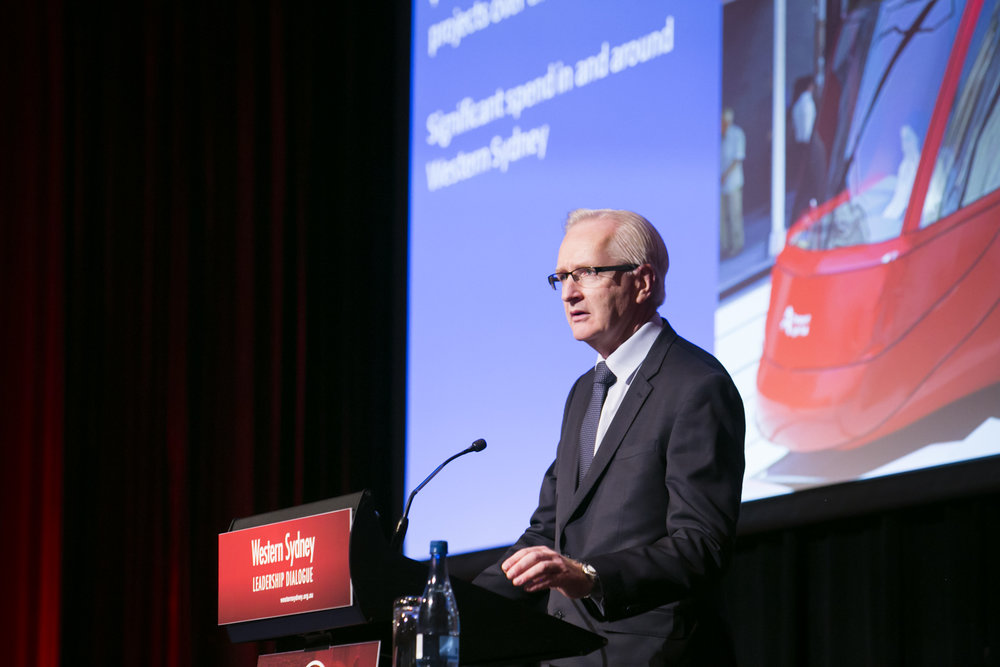 Transport for NSW Secretary Tim Reardon outlined a number of current and future transport projects in the pipeline.