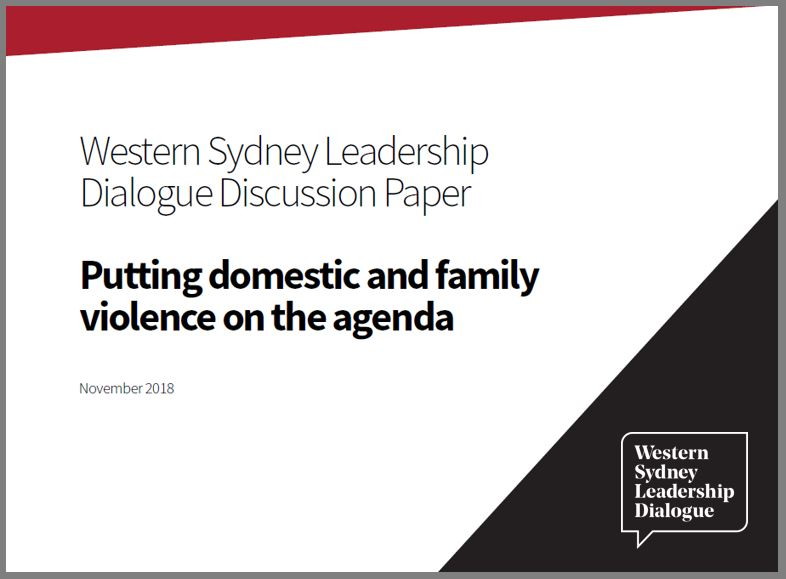 CLICK HERE TO VIEW: Putting Domestic and Family Violence on the Agenda discussion paper