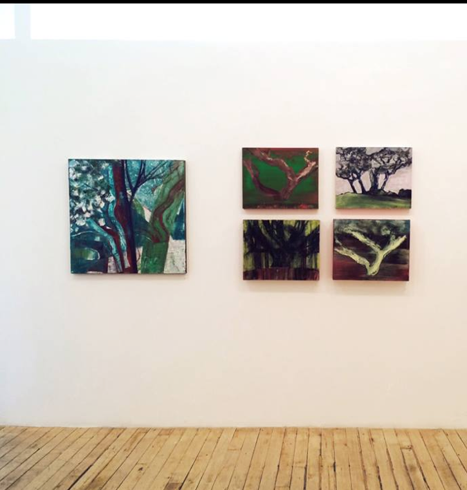 Yearning Upwards Exhibit at The Painting Center,NYC Sept. 2014