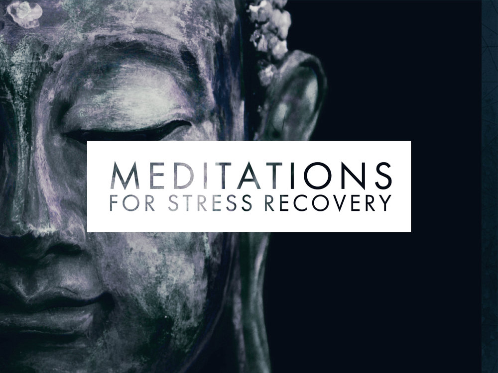 Everyday meditations for stress & overwhelm - A series of meditations that take through simple practices that help you turn off that voice in your head so that you can rest well and begin to process bottled up stress effectively.