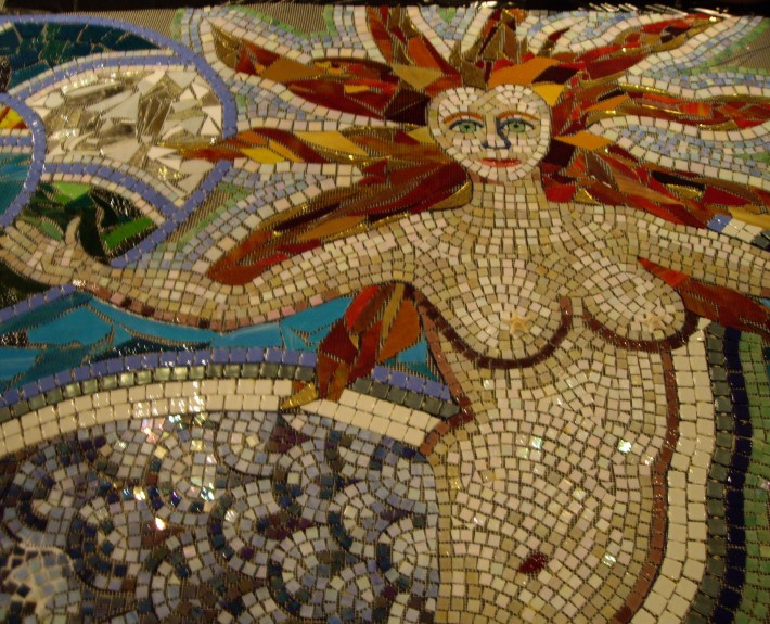 One section of my mermaid mosaic
