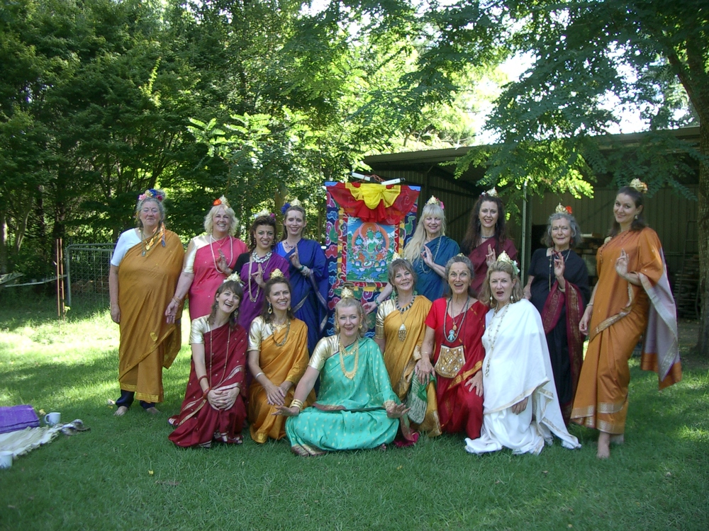 Tara Dancing, Spiritual Sacred Dancing to the 21 Praises of Tara, the blessed feminine.JPG
