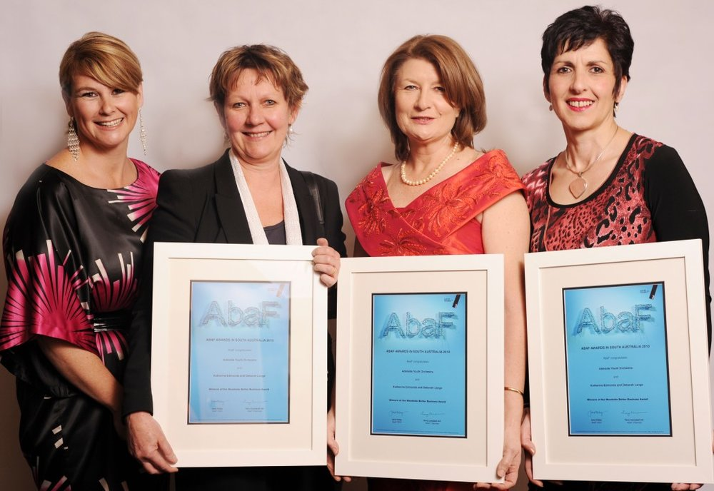 WOODSIDE BETTER BUSINESS AWARD FOR MENTORING