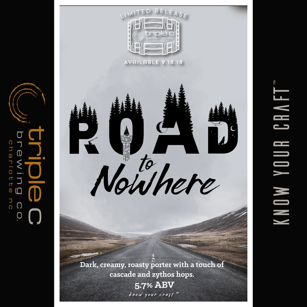 Charlotte's original Road to Nowhere!