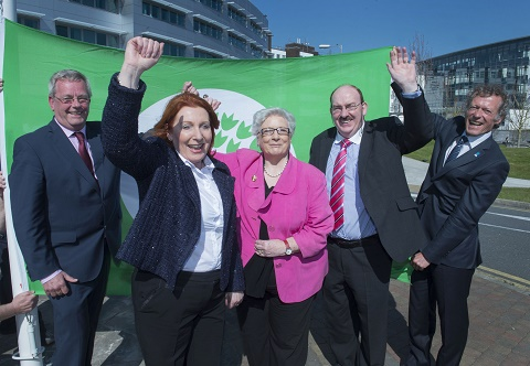 A World First for Cork University Hospital as it Raises the Green