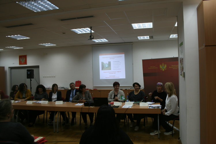 The Bureau for Education Services officially launches the Eco-Schools programme in Montenegro