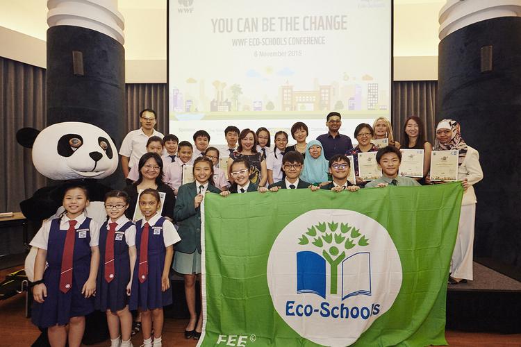 WWF Eco-Schools Conference 2015