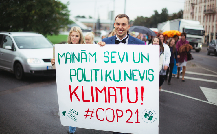 Eco-Schools Awards and Climate March in Latvia
