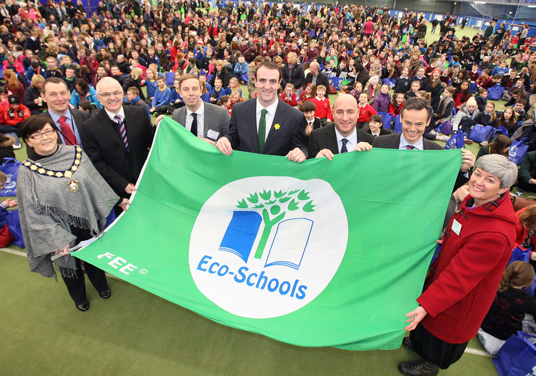 Eco-Schools in Northern Ireland Celebrate 20 Years at a Special Event