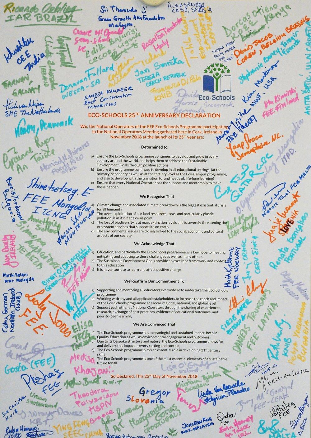 Eco-Schools 25 Anniversary Declaration.jpg
