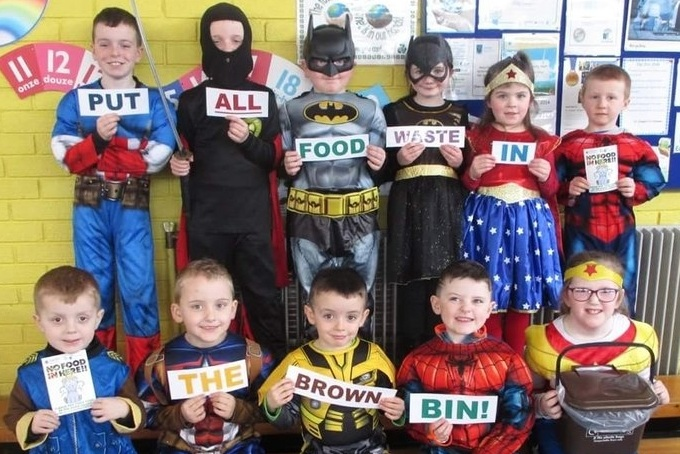 Northern Ireland Pupils take on a Food Waste Challenge