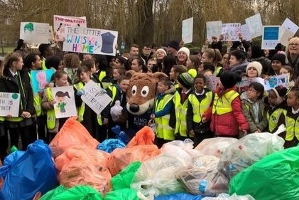 Great British Spring Clean #LitterLessCampaign