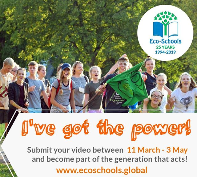 📲 Join our 🌍 campaign - tell us what you'd do for sustainable development if you had the power! 💪 #Ivegotthepower #ecoschools25
