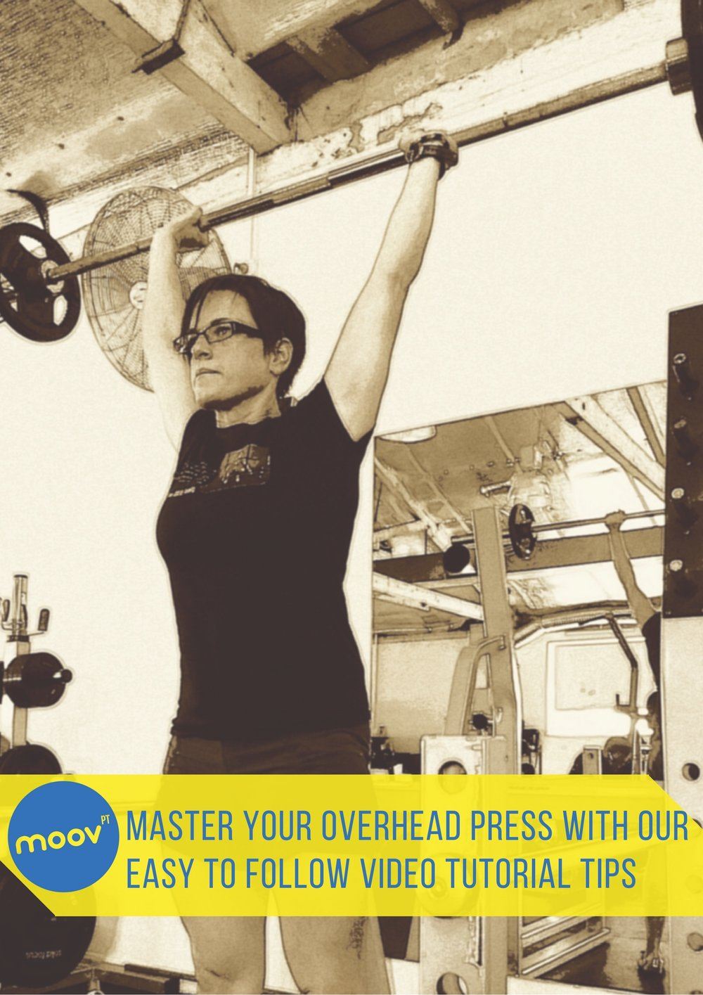 overhead press tutorial video