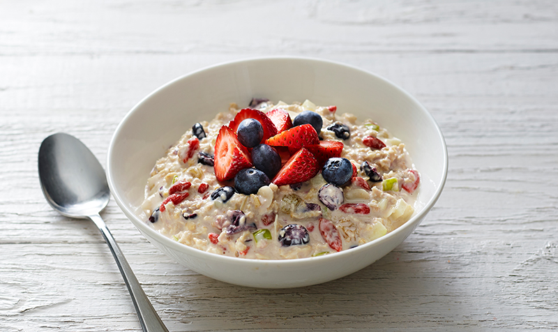 bircher muesli recipe healthy breakfast