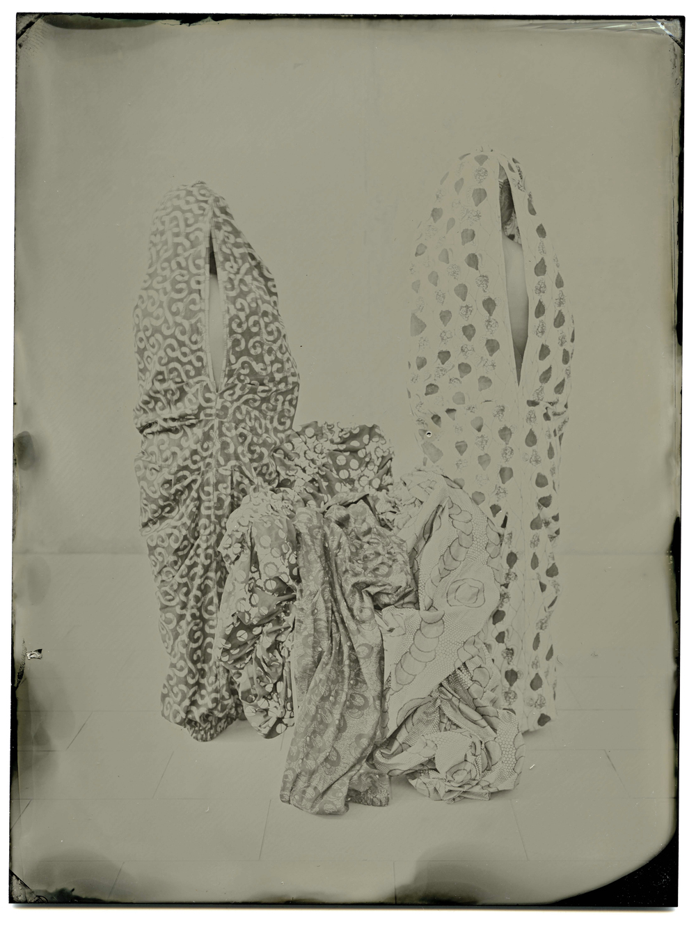 I  mpronta Series (2013) Collodion wet plate photography o aluminium