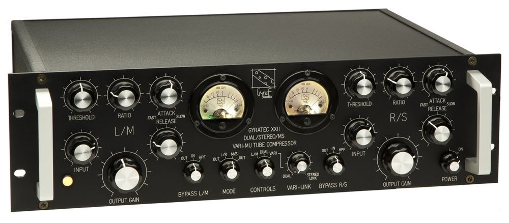 Gyratec XXII: Stereo/Dual/MS Vari-mu Compressor (G22)