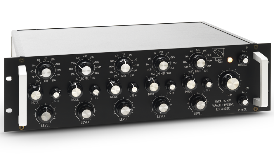 Gyratec XIV: Stereo Parallel-passive Equalizer (G14)