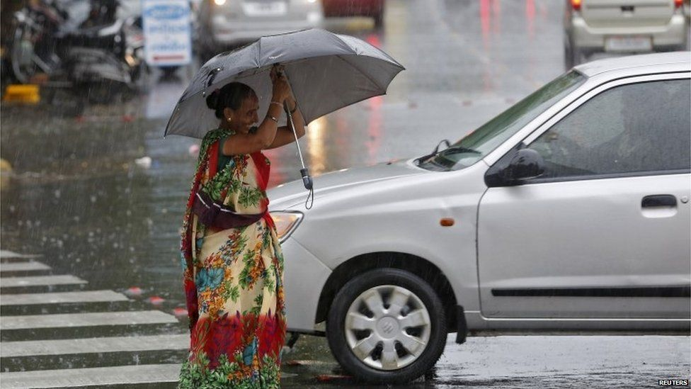 Gujarat has been hit by heavy rains