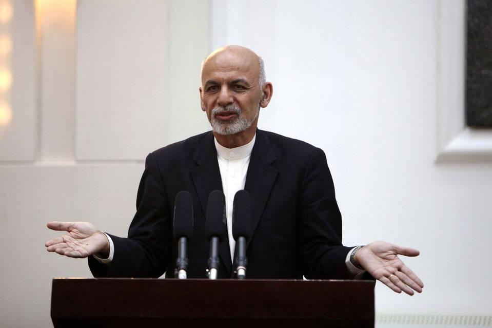 A deadly exchange of weapons fire Tuesday night between Afghan and Pakistani border forces has imperiled an outreach by Afghan President Ashraf Ghani, pictured in May, to Islamabad seeking improved ties between the two countries. PHOTO: HEDAYATULLAH AMID/EUROPEAN PRESSPHOTO AGENCY