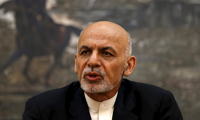 Ashraf Ghani, the Afghan president. He has been severely criticised at home for enlisting Pakistani help to bring the Taliban to the negotiations. Photograph: Mohammad Ismail/Reuters