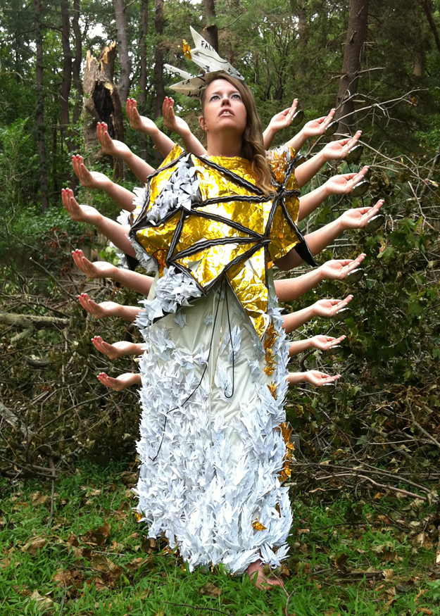 The ARmaTure for Prayer: A Wearable Sculpture of Visible & Potent Global Prayers