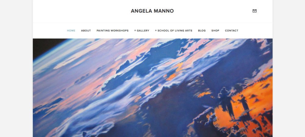 I am currently consulting with artist & ecospiritual activist Angela Manno on her new website design, product offerings & e-commerce shop