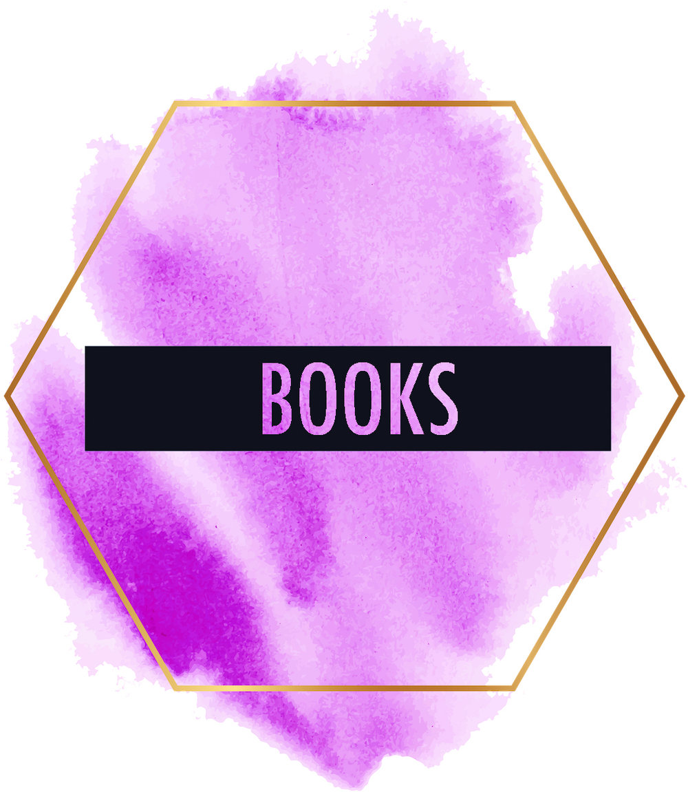 hexagon paint splotch pink books copy.jpg