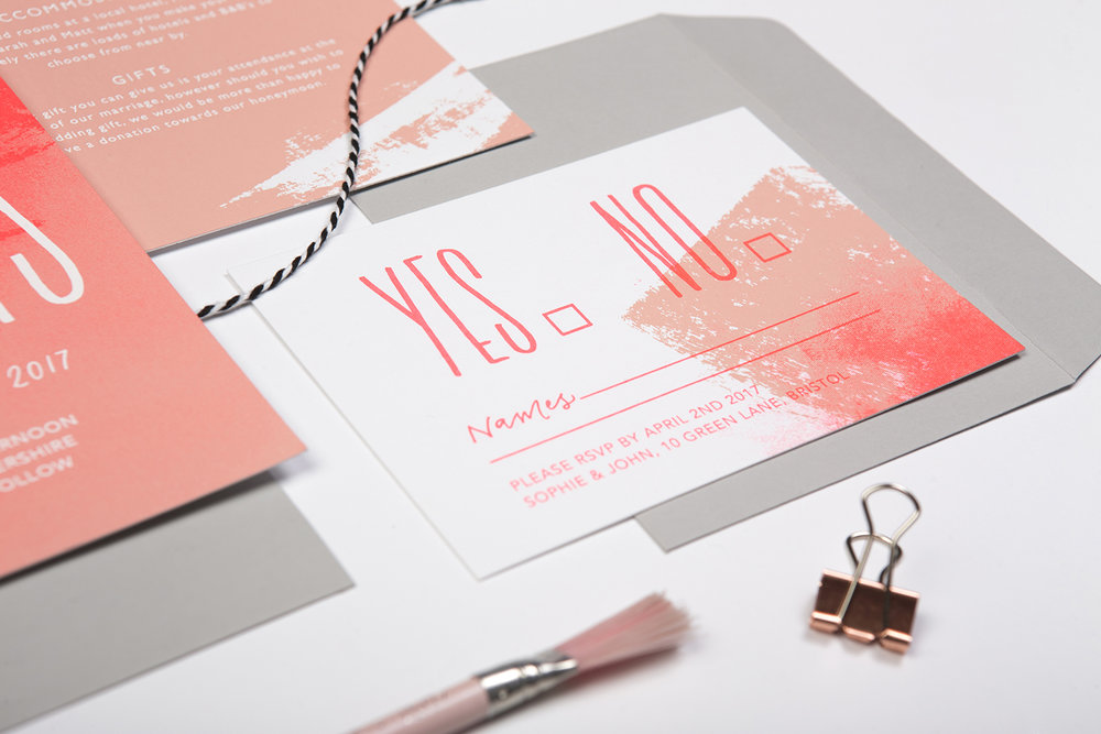 fashion wedding invites