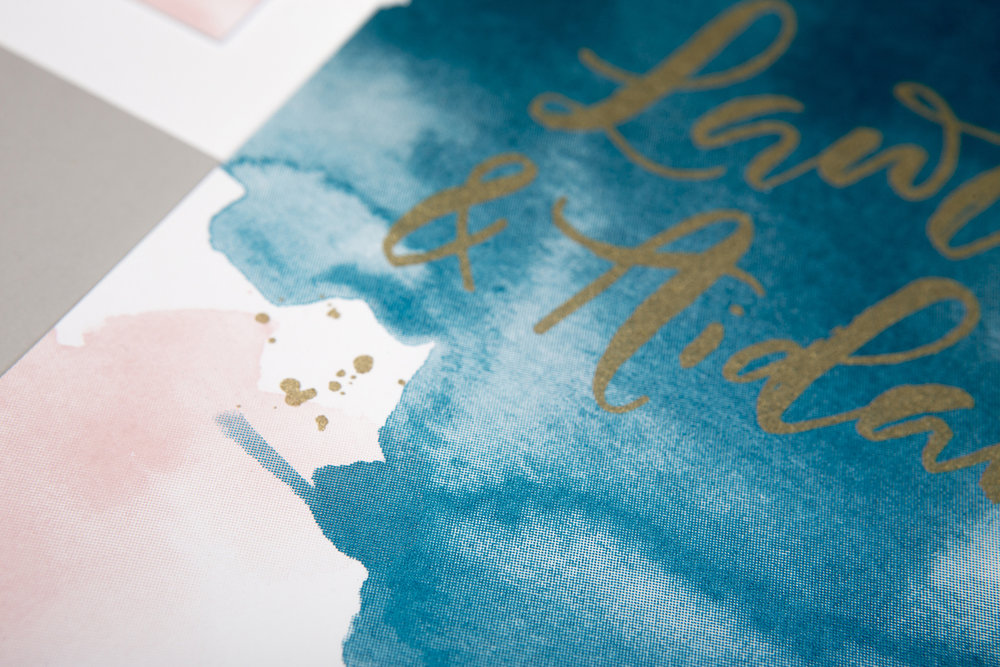 watercolour stationery
