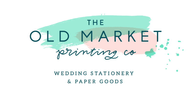The Old Market Printing Co - Bespoke & Contemporary Wedding Stationery & Products