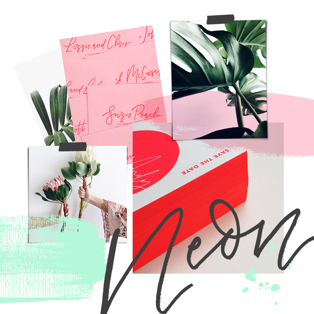 neon modern minimalist wedding ideas.jpg