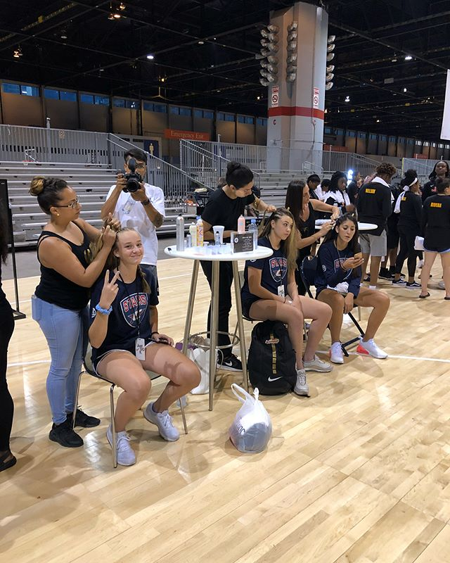 A little fun before the action tomorrow. #2018NikeNationals
