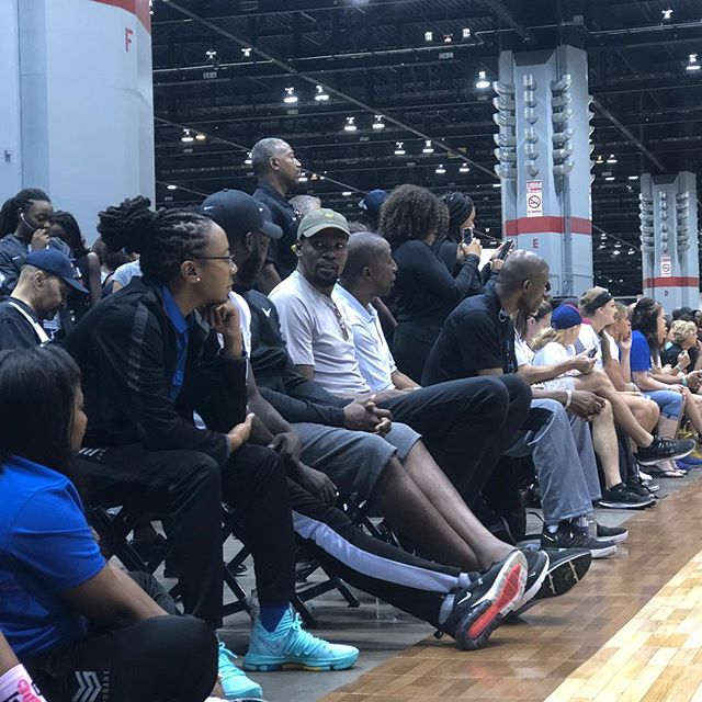 Welcome to #2018NikeNationals @kevindurant.