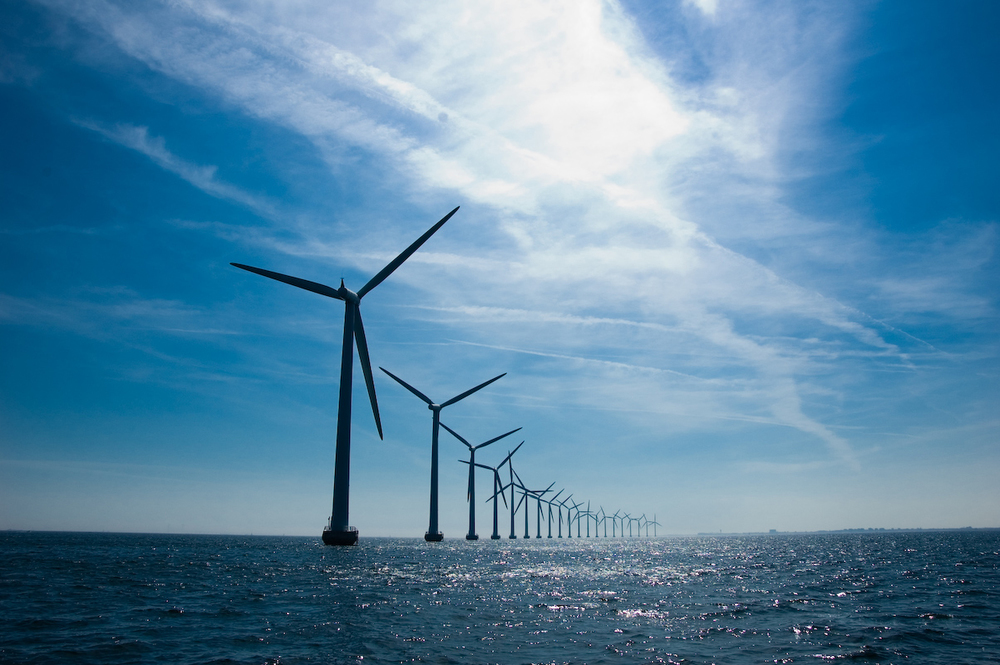 Middelgrunden windmills outside Copenhagen. Photo credit: Andreas Klinke Johannsen.