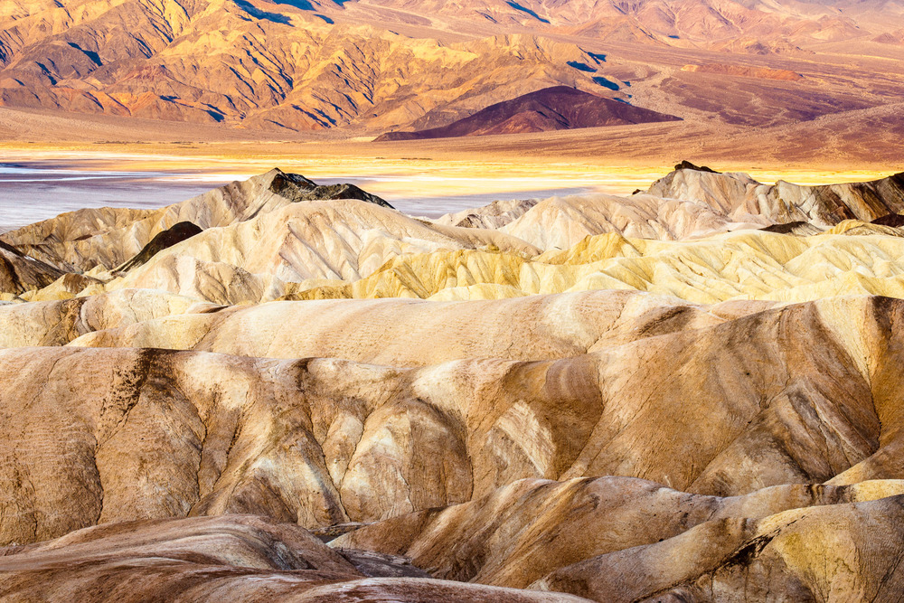 Zabriskie Point, Inyo County, USA