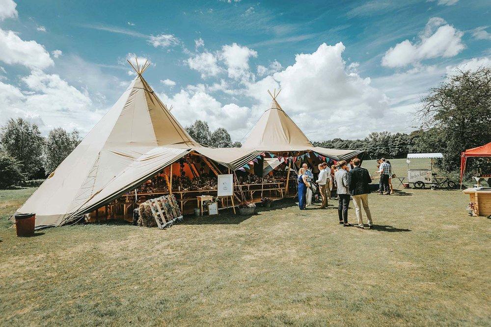 Essex wedding venues for festival outdoor wedding venue in Essex