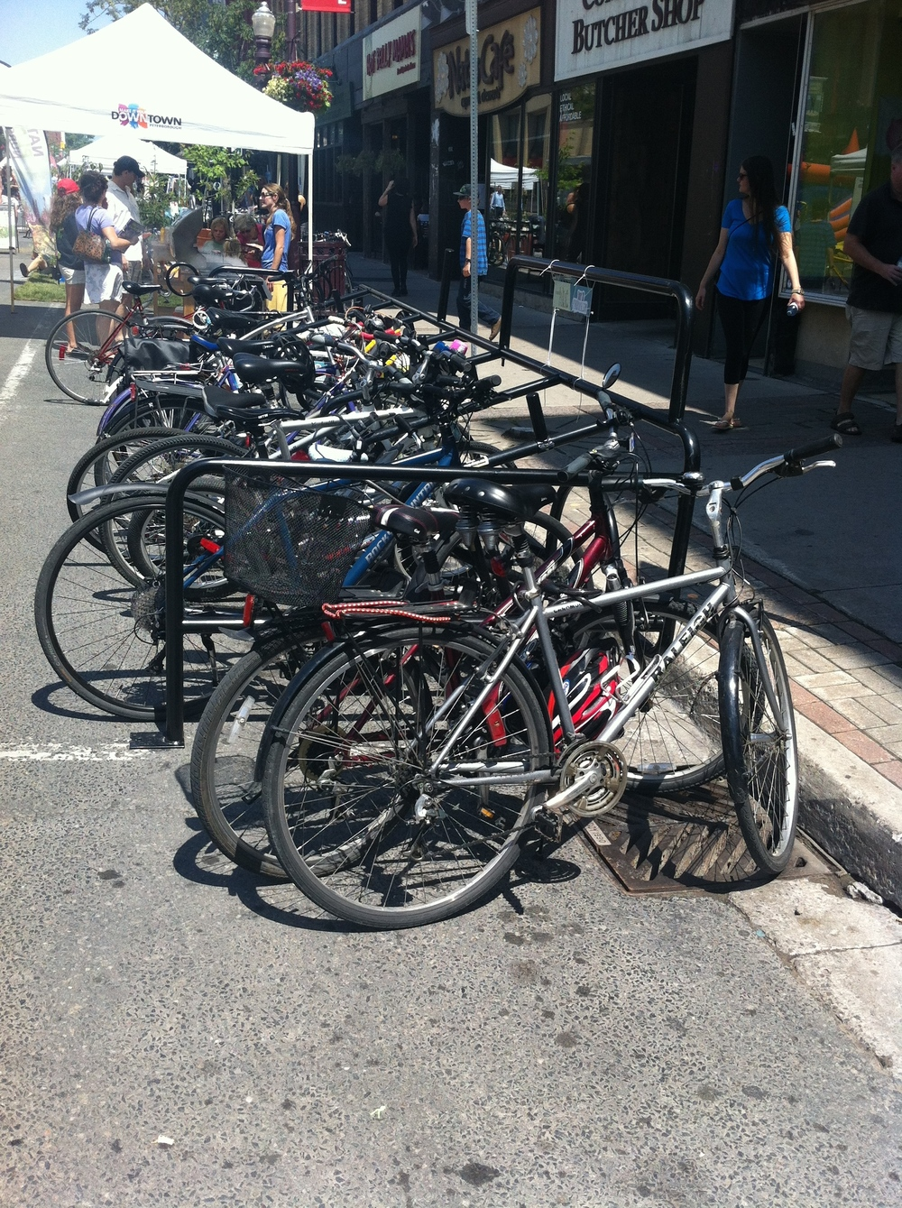 Offer Bike Parking