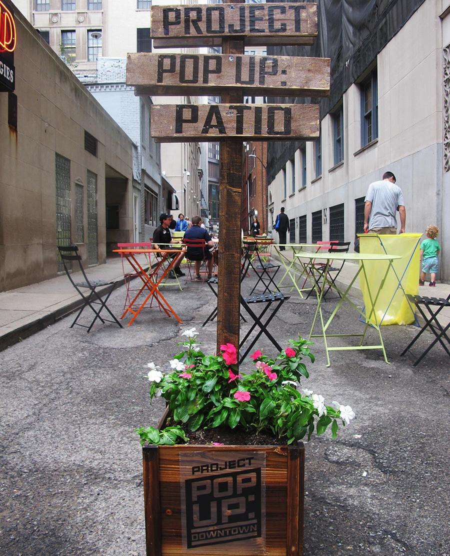 Host a Pop- Up Patio
