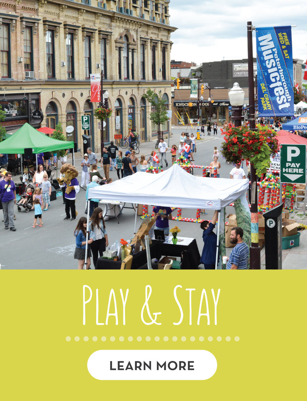 Play and Stay this year at Pulse