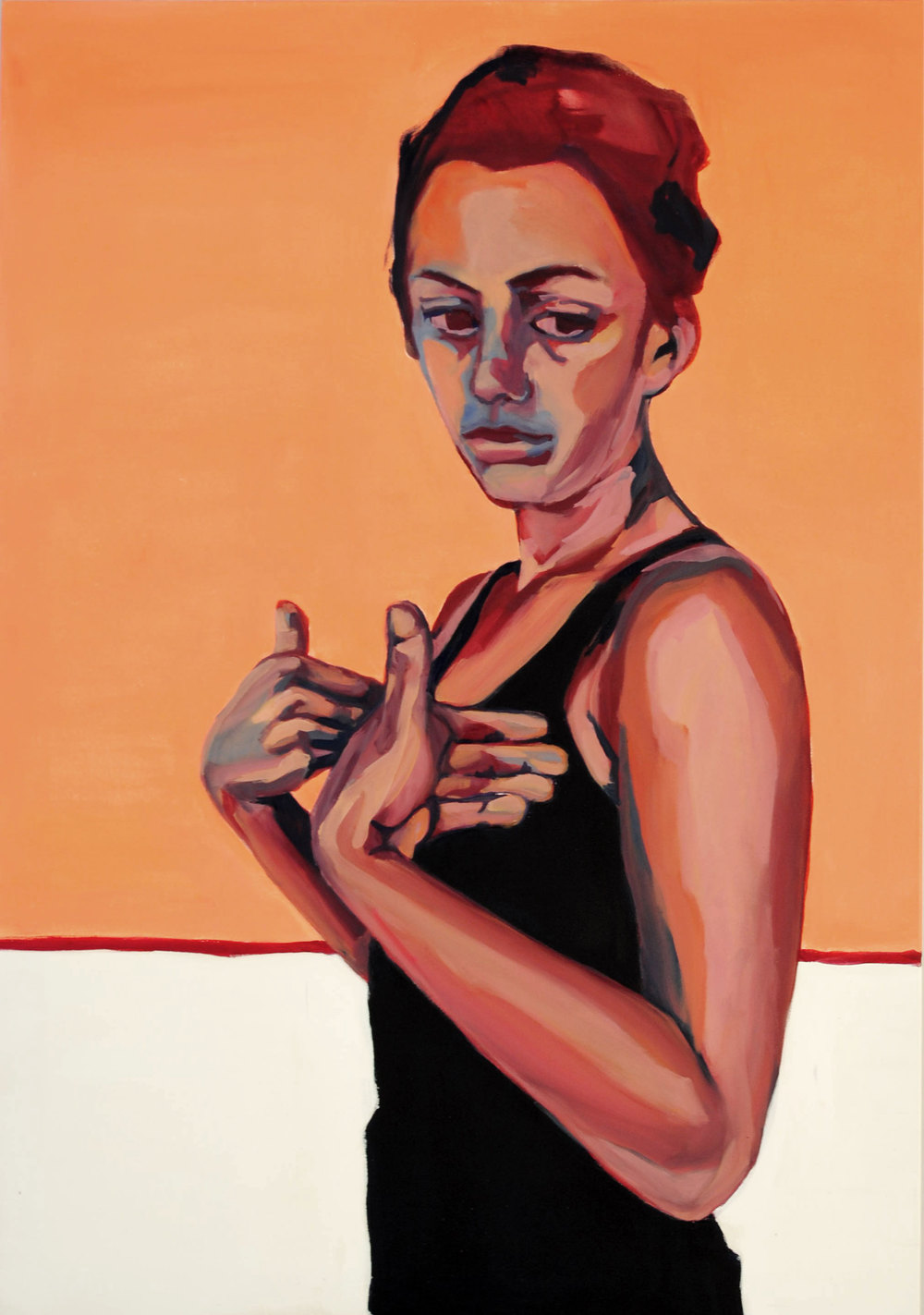 150 x 105 cm, oil on canvas, 2011, private collection