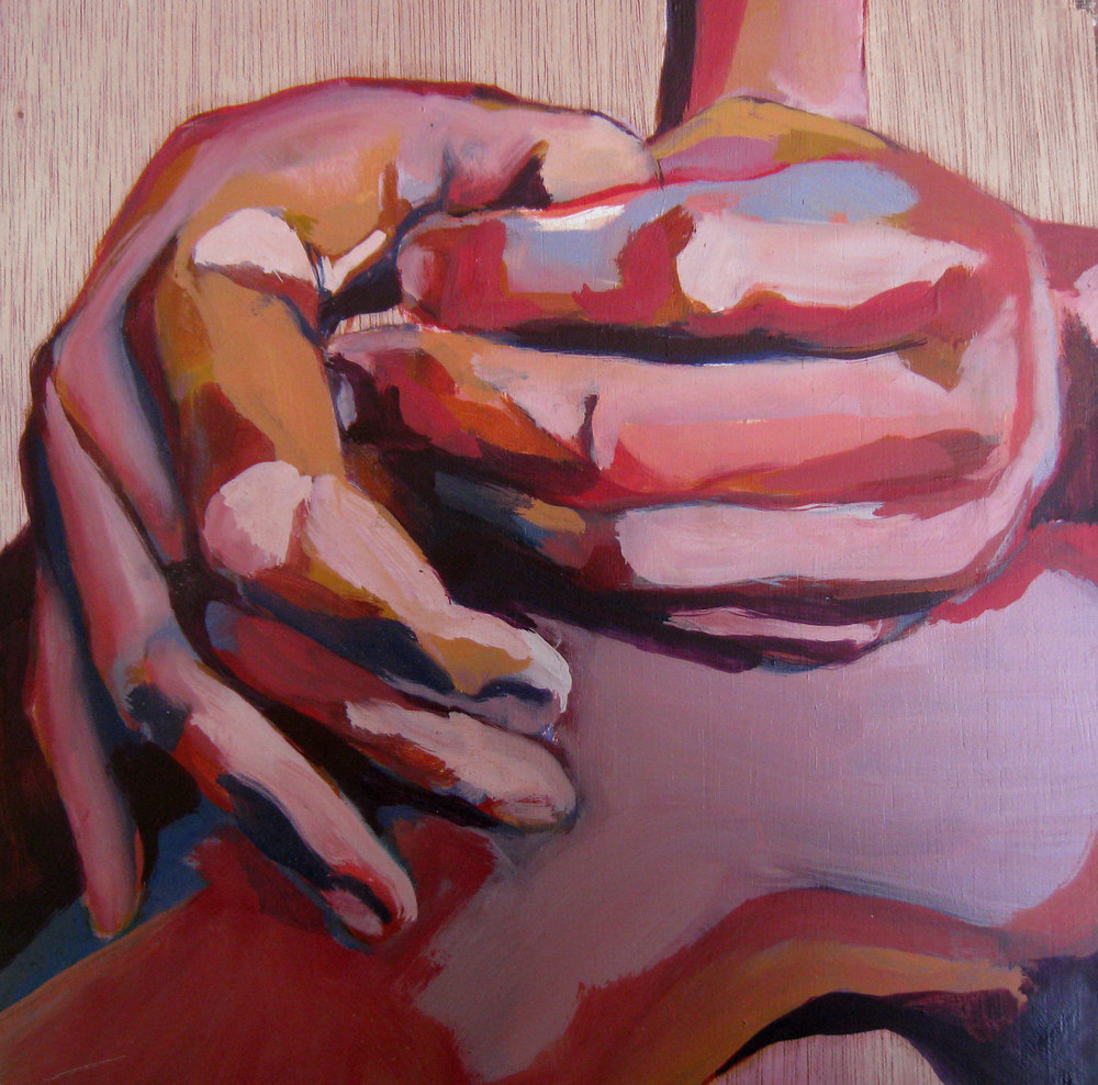34,5 x 34 cm, oil on wood, 2011
