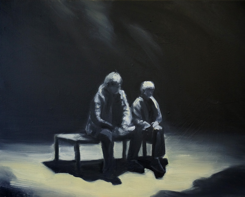40 x 50 cm, oil on canvas, 2015