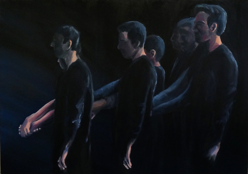 85 x 120 cm, oil on canvas, 2015