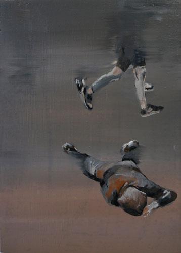 untitled,25 x 18 cm, oil on wood, 2015