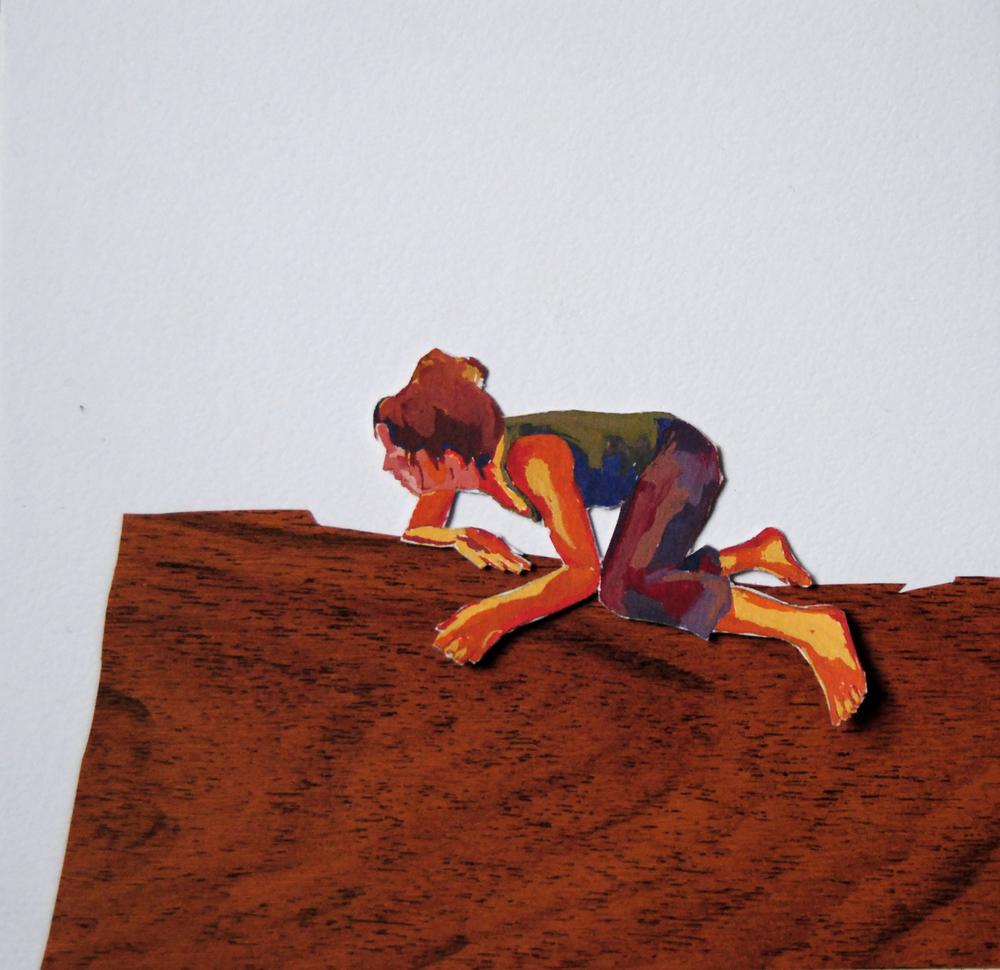 Wat als de lucht straks op is? 14 x 15 cm, gemengde techniek op papier, 2011.JPG