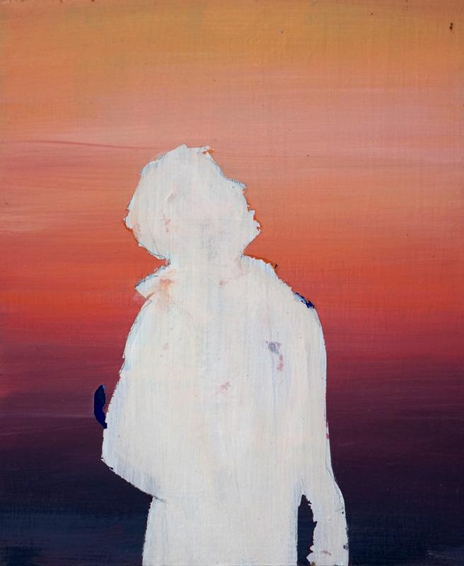 untitled, 18 x 15 cm, oil on wood, 2015