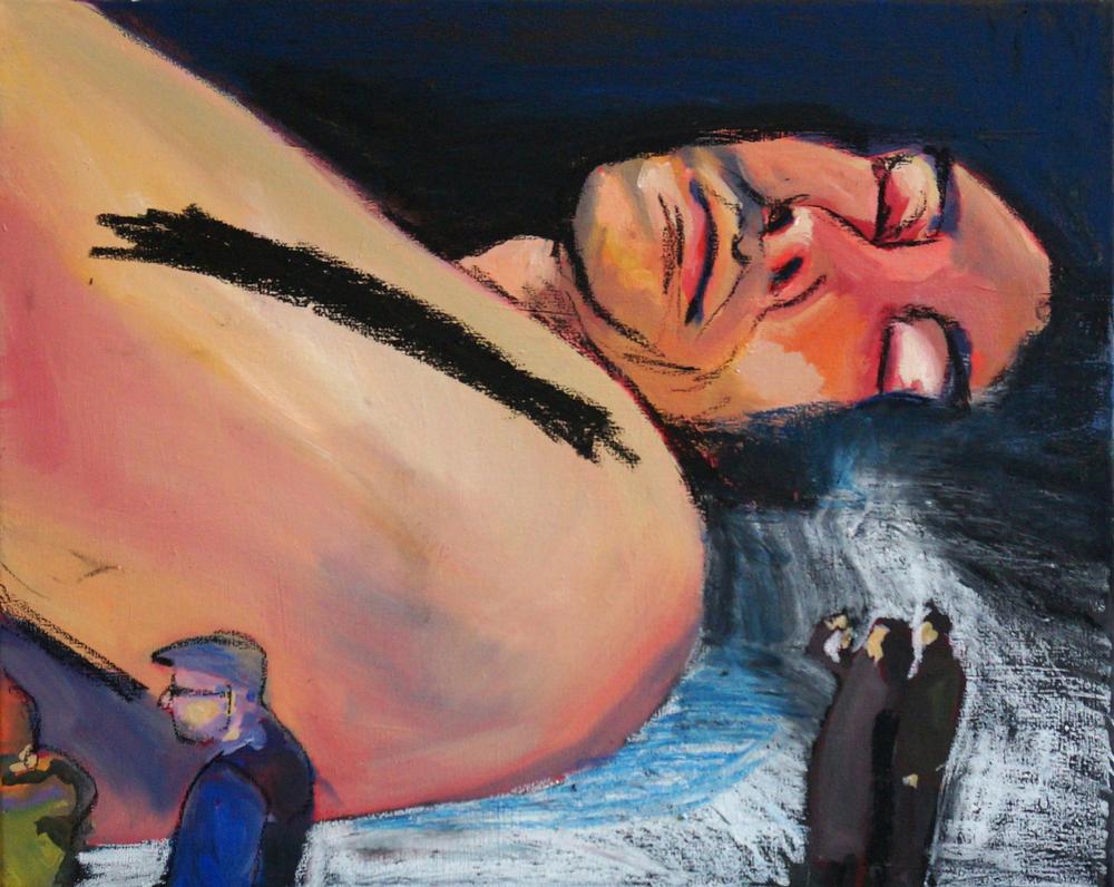 untitled,40 x 50 cm, mixed techniques canvas, 2015