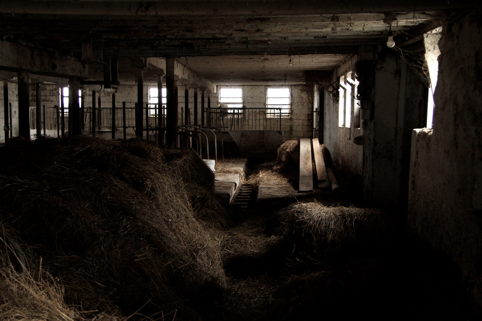 The Barn, inside.