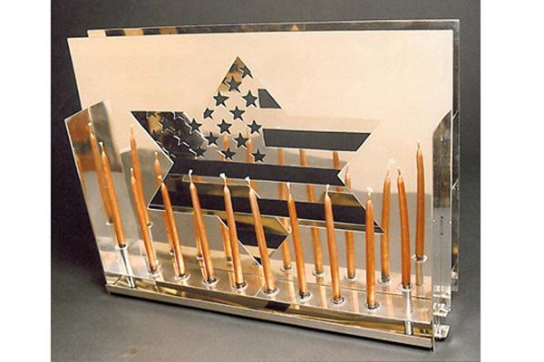 Star Spangled - Hanukkah Menorah (click to learn more)